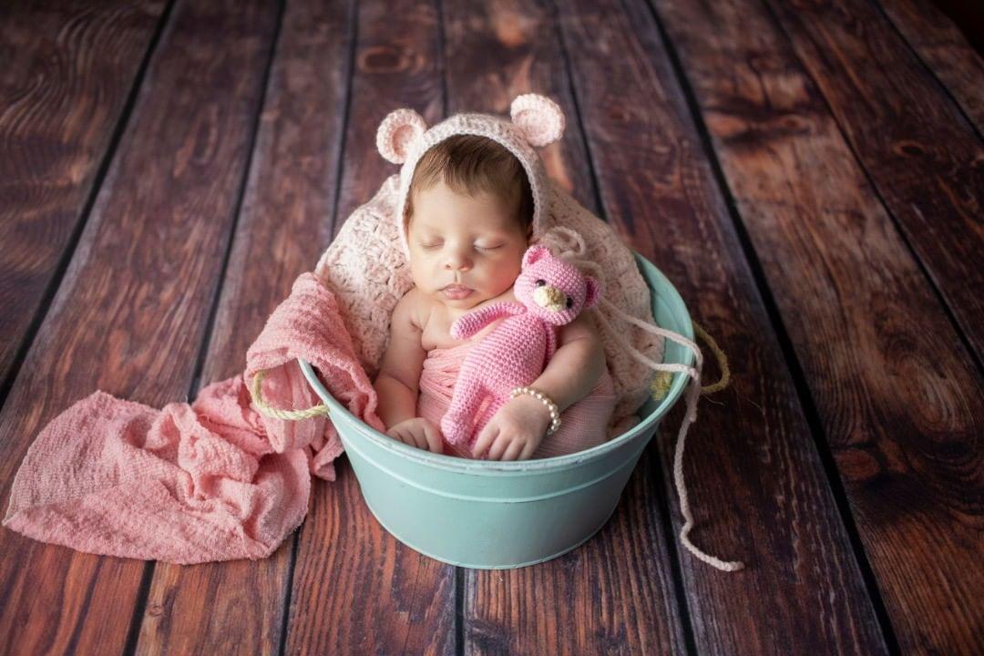 Kit de Crochê para Ensaio Newborn